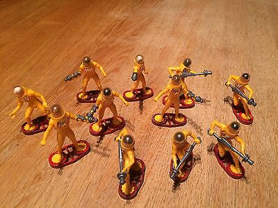 Britains Space Collection 1980's Toys. Space Stargard Figures.