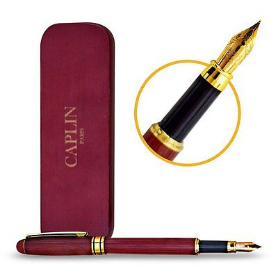 Handcrafted Fountain Pen Ink Refill Converter Vintage Gift Fine Classic Rosewood