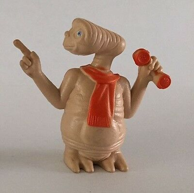 """Vintage 1982 E.T. Extra Terrestrial Phone home PVC figure / Toy / Decoration 2"""""""