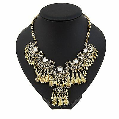 Miraculous Garden Womens Vintage Antique Gold Ethnic Tribal Boho Beads Gold #7GV