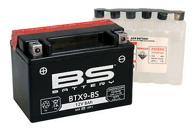 Bateria BS-Battery YTX9-BS sin mantenimiento