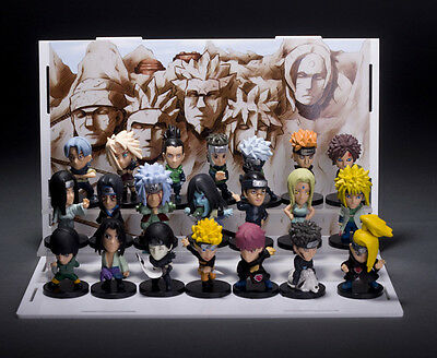 Action Figure Toy Statue Manga Anime Naruto Sasuke Kakashi Set 21Pcs 5 Cm 2Inch