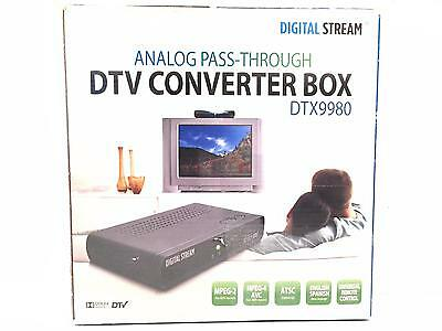Digital Stream DTX9980 DTV Converter Box with Remote