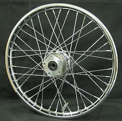 """Chrome Ultima 40 Spoke Front 21x2.15"""" Wheel for Softail and FXDWG 1984-1999"""