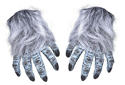 #grey Hairy Hands For Halloween Animal Accessories