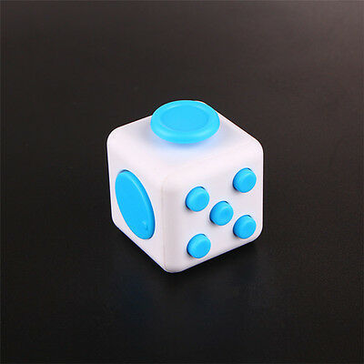 Stress Cube Fidged Depression Reliever Anti Stress Magic Cube Toy Click Nerves