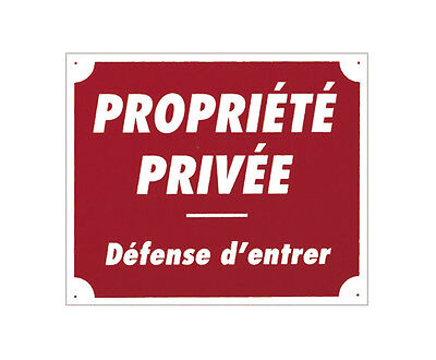 Propriete privée  ...