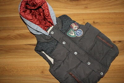 NEXT boys green gilet / bodywarmer 18-24 months *I'll combine postage