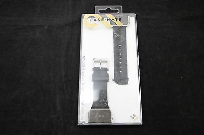 Case-Mate Facets Smartwatch Black Band for Apple Watch 38mm - CM032783