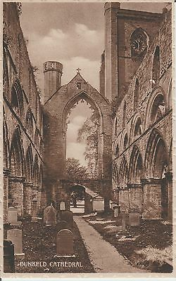 Dunkeld - Perthshire - Cathedral -   Real Photo Postcard