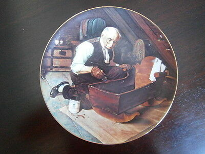 Grandpa's gift, Rockwell collector plate