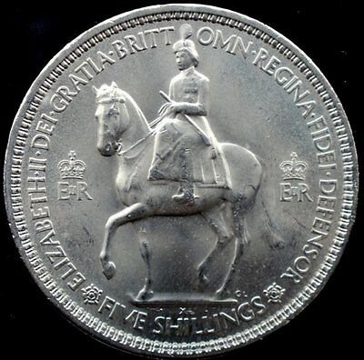 narkypoon's RAW BRILLIANT UNCIRCULATED 1953 Queen Elizabeth II Coronation Crown