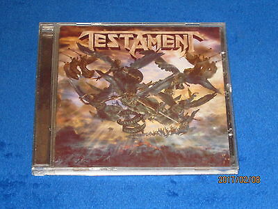 Cd - Testament - The Formation Of Damnation