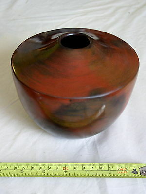 Native American Indian Navajo Pot Susie Crank signed Terracotta Pottery