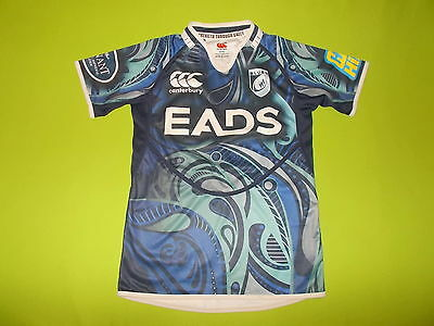 Shirt CARDIFF BLUES (14 years) CANTERBURY CCC 2012/2013 PERFECT !!! Jersey Rugby