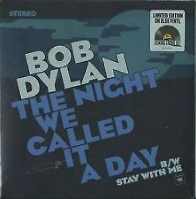 Bob Dylan The Night We Called It A Day Blue Vinyl 7 Record Store Day Sealed