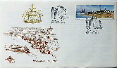FDC    SOUTH AFRICA 1978 / History of Walvisbaai     PT 3.6