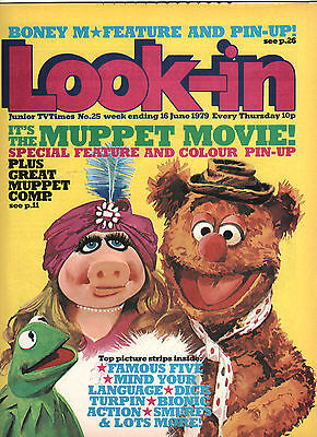 Look In Magazine 16 Jun 1979 #25 The Muppets