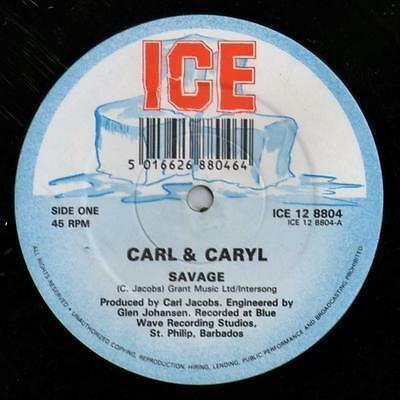 "Carl  & Caryl - From Now On - 12"" Soca"