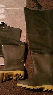 fishing waders size 8