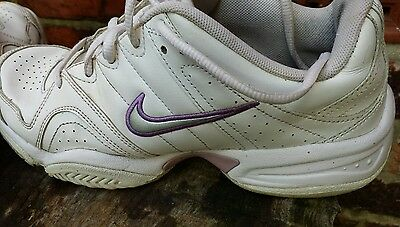 Nike GDR soles city court leather trainers womens size 5 sports Tennis
