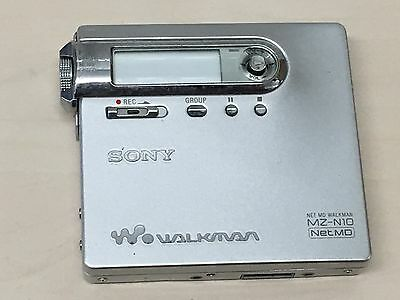 Sony Net MD MZ-N10 Personal MiniDisc Player