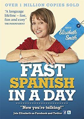 Fast Spanish in a Day with Elisabeth Smith Book by Smith Elisabeth CD-Audio