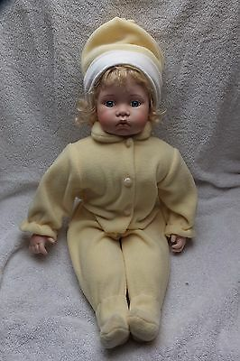 Knightsbridge Boxed Collectors Porcelain Doll - Unnamed 24 Inches Tall