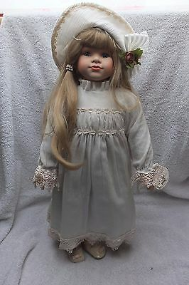 Knightsbridge Boxed Collectors Porcelain Doll - Liza 23 Inches Tall