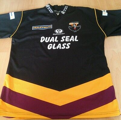 Huddersfield Giants Away Rugby League Shirt Large Mint Condition