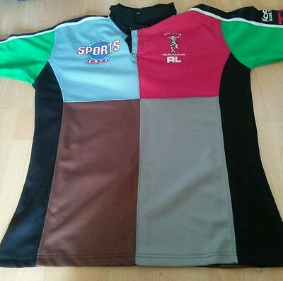 Harlequins (London Broncos) Rugby League Shirt Size Large Mint Condition