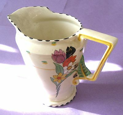 gift hand painted jug by Burleigh Ware burgess & leigh