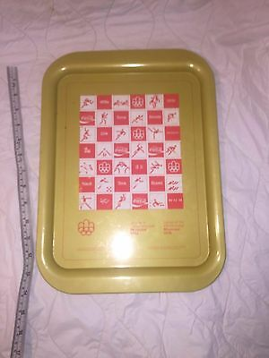 Coca-Cola Montreal Olympic Serving Tray