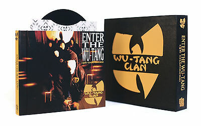 """Wu-Tang Clan Enter the 36 Chambers Deluxe 7 Inch Casebook 7 x 7"""" 45 Adapter NEW"""