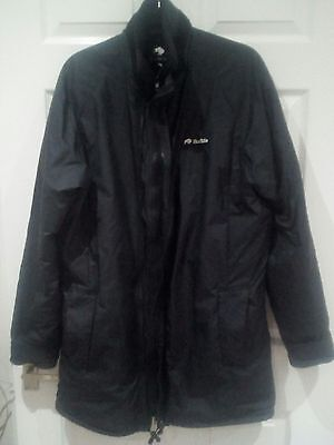 "Buffalo Mens Mountain Jacket Pile Pertex Black 40"" With Tags"
