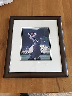 Authentic Tiger Woods Signed photo, Masters 1999, COA
