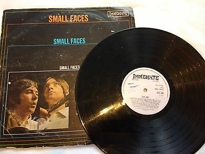 THE SMALL FACES - Selftitled LP Immediate 1967 - IMLP 008