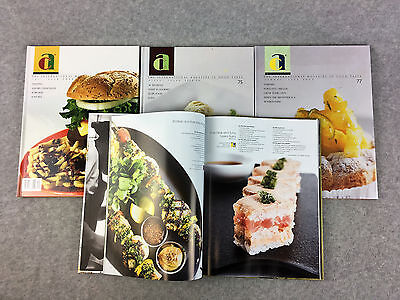 Art Culinaire 9-25, 27-27-38, 74-75, 77, 109 Lot of 33