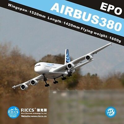 A380 6CH RC airplanes aircraft model A380 remote control
