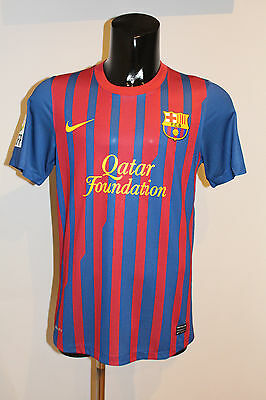 Camiseta Fc Barcelona Match Worn David Villa 7 Player Shirt