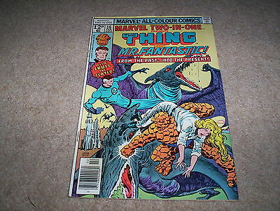 Marvel Two-in-One Monthly Comic Issue 36 The Thing Mr Fantastic February 1978