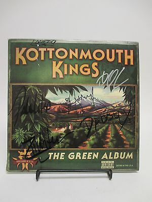 """SIGNED Kottonmouth Kings """"The Green Album"""" LP COVER ONLY / AUTOGRAPHED by all 6!"""