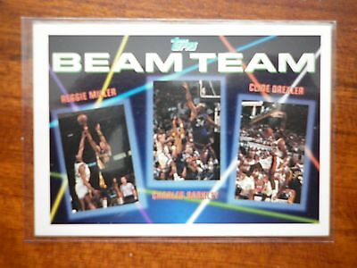 1993 Topps Beam Team Drexler/Barkley/Miller # 1 Of 7