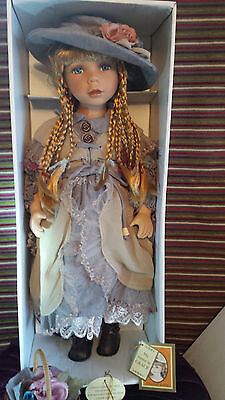 """Beautiful Grace Limited Edition 437 of 600 Alberon Doll - 22"""" Tall (Boxed)"""