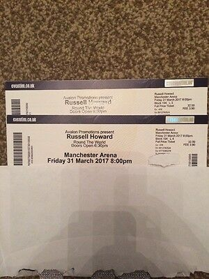 Russell Howard Tickets Manchester 31st March 2017