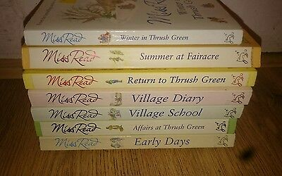 Selection of Books Miss Read collection used