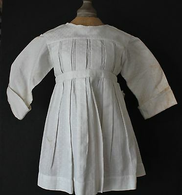 Vintage Child Dress 1930's White Great Condition