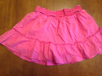 Girls Pink Skirt with shorts under SO 8