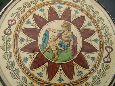 ANTIQUE 19th MINTON HOLLINS&CO Patent Tile Works Stoke on Trent TEAPOT STAND