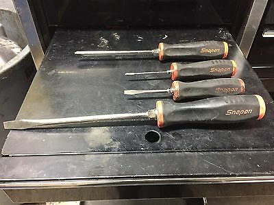 Snap On Screwdrivers Set Of 4 Old Style
